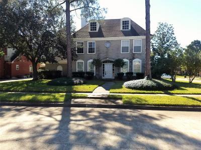 Houston Single Family Home For Sale: 16107 Rainbow Lake Road
