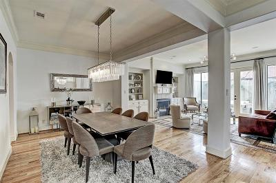 Houston Condo/Townhouse For Sale: 2306 McDuffie Street
