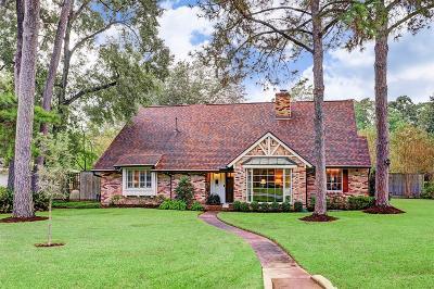 Houston Single Family Home For Sale: 1131 Glourie Drive