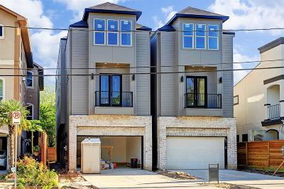 Houston Single Family Home For Sale: 6007 Hamman #A