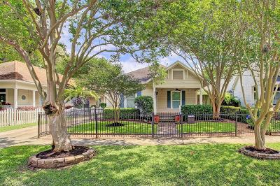 Houston Single Family Home For Sale: 1022 Columbia Street
