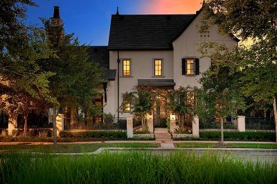 The Woodlands TX Single Family Home For Sale: $2,750,000