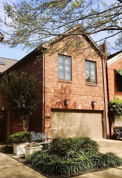 Houston Condo/Townhouse For Sale: 6308a Taggart Street