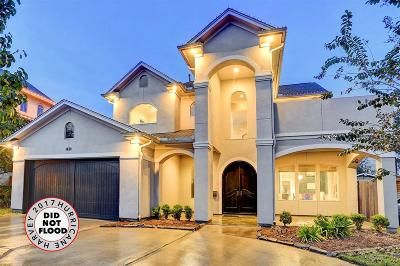 Houston Single Family Home For Sale: 1410 Woodcrest Drive