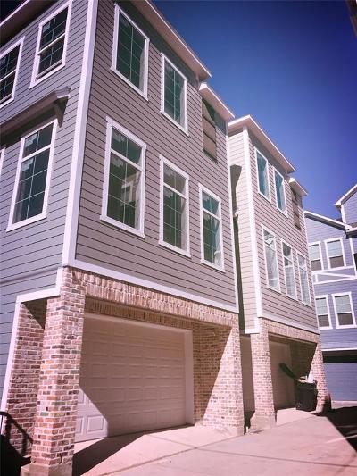 Houston Single Family Home For Sale: 3007 Bell Street #B