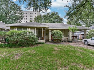 Houston Single Family Home For Sale: 3722 Las Palmas