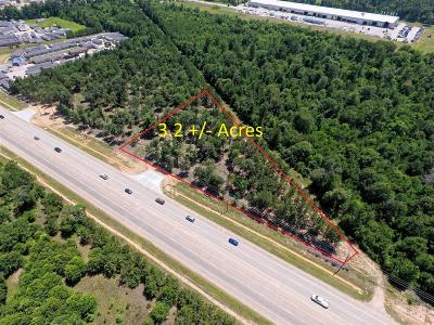 Conroe Residential Lots & Land For Sale: 3.2 Acres N Loop 336 E