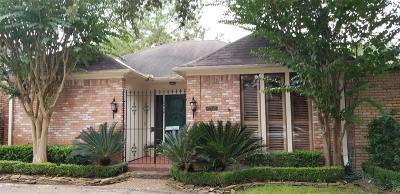 Houston TX Single Family Home For Sale: $525,000