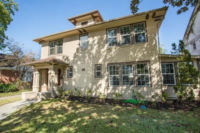 Houston Single Family Home For Sale: 2533 Prospect Street