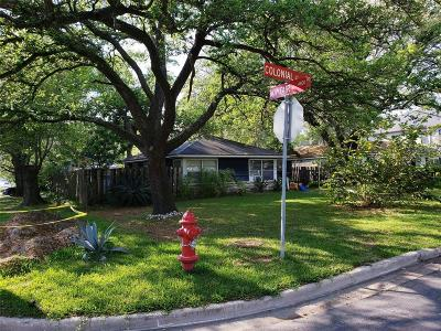 Bellaire Single Family Home For Sale: 1109 Colonial Street