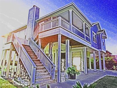 Pirates Cove Single Family Home For Sale: 3647 Foremast