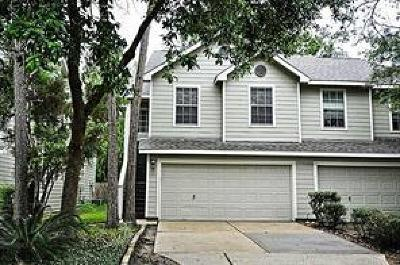 The Woodlands Condo/Townhouse For Sale: 134 S Walden Elms Circle