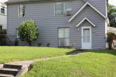 Houston Single Family Home For Sale: 3448 Oakdale Street
