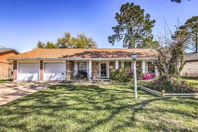 Texas City Single Family Home For Sale: 7916 Jonquil Drive