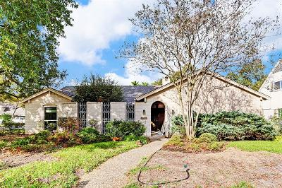 Houston Single Family Home For Sale: 10626 Deerwood