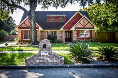 Single Family Home For Sale: 7538 Maple Tree Drive