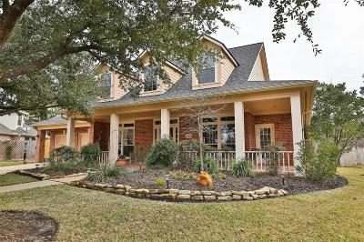 Tomball Single Family Home For Sale: 12503 Village Crest Court