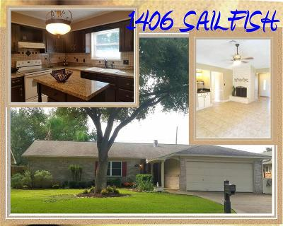 Bay City TX Single Family Home For Sale: $188,000