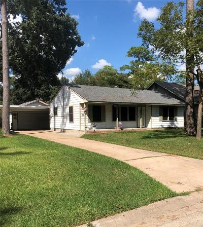 Houston Single Family Home For Sale: 1818 Wakefield Drive