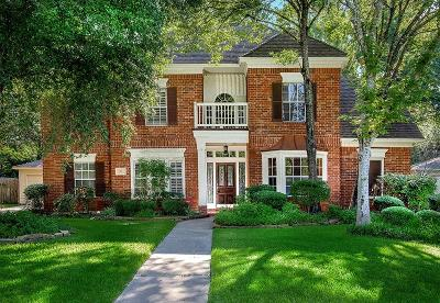 The Woodlands Single Family Home For Sale: 7 Smokestone Drive