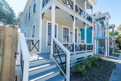Galveston Single Family Home For Sale: 1011 Sealy Street
