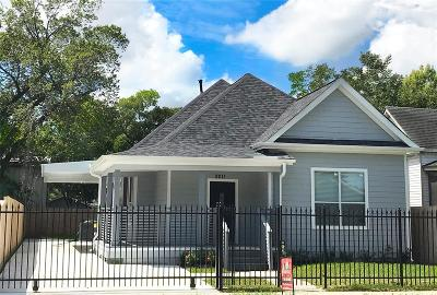 Houston Single Family Home For Sale: 2011 Common Street