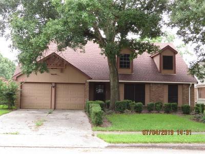 League City Single Family Home For Sale: 2825 Hickory Limb Court