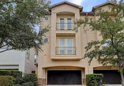 Houston Condo/Townhouse For Sale: 2423 Wroxton Road