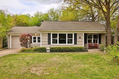 Houston Single Family Home For Sale: 1734 Gardenia Drive