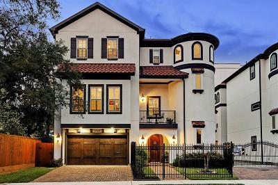 Houston Single Family Home For Sale: 1314 Hawthorne Street
