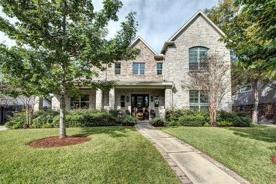 Houston TX Single Family Home For Sale: $1,625,000