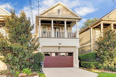 Houston Single Family Home For Sale: 1228 Herkimer Street