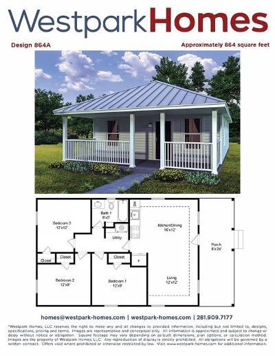 Alvin Single Family Home For Sale: 224 Jordan Street