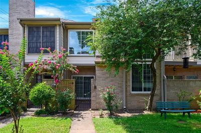 Houston Condo/Townhouse For Sale: 720 Country Place Drive #B