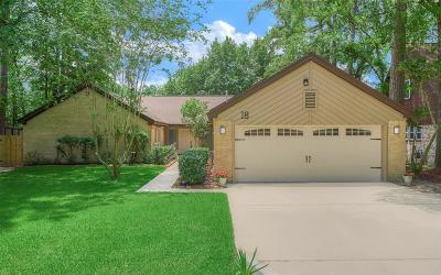 The Woodlands Single Family Home For Sale: 18 Rosedale Brook Court
