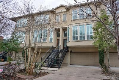 Houston TX Condo/Townhouse For Sale: $459,000