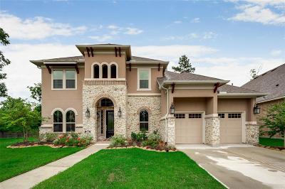 Kingwood Single Family Home For Sale: 5910 Vineyard Creek Lane