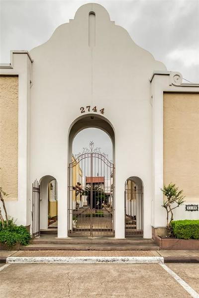 Houston TX Condo/Townhouse For Sale: $134,900