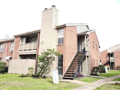 Houston Condo/Townhouse For Sale: 12500 Sandpiper Drive #93