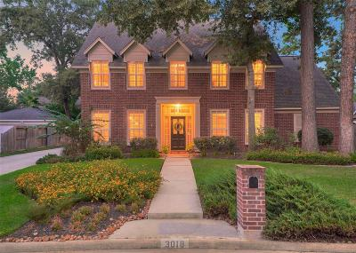 Kingwood Single Family Home For Sale: 3018 Woodland View Drive