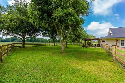 Fort Bend County Country Home/Acreage For Sale: 5320 Baker Road Road