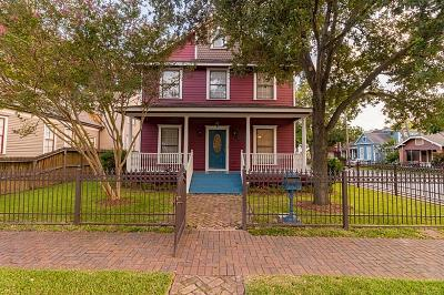 Houston Single Family Home For Sale: 2019 Decatur Street