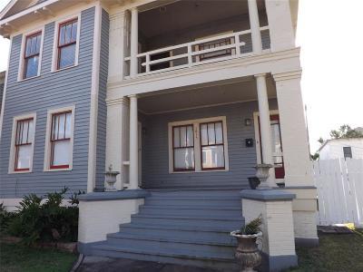 Galveston Rental For Rent: 1615 Winnie Street