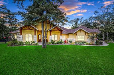 Conroe Single Family Home For Sale: 11260 Blue Grass Way