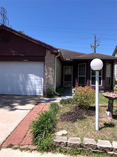 Houston Single Family Home For Sale: 3428 Benfield Drive