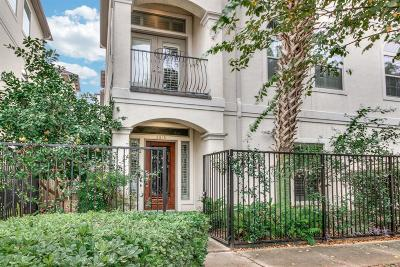 Houston Condo/Townhouse For Sale: 2815 Albany Street