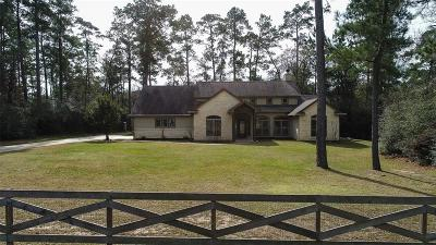Hockley Single Family Home Option Pending: 23510 Nichols Sawmill Road