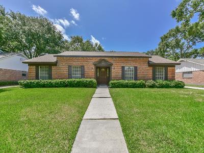 Houston Single Family Home For Sale: 8315 Braesdale Lane