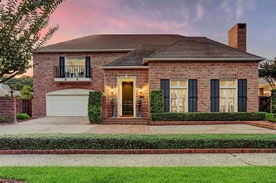 Houston Single Family Home For Sale: 3818 Piping Rock Lane