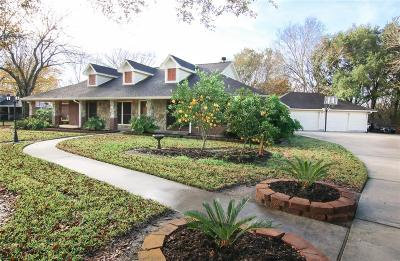 Manvel Single Family Home For Sale: 7110 Booth Lane